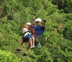 Costa Rica Zipline adventure